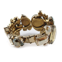 Load image into Gallery viewer, Large Austrian Crystal Cuff