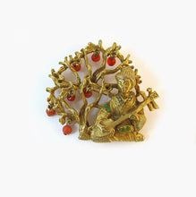 Load image into Gallery viewer, Signed Art Oriental Brooch