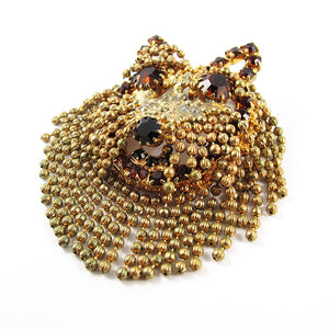 Vintage Dog Brooch-Pendant