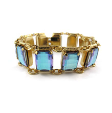 Load image into Gallery viewer, Harlequin Market Crystal Bracelet - Television Stone