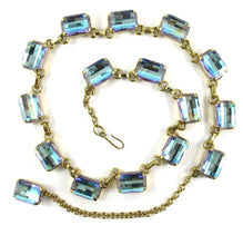 Load image into Gallery viewer, Harlequin Market Small Octagon Crystal Accent Necklace - Television