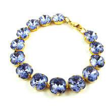 Load image into Gallery viewer, Harlequin Market Small Crystal Bracelet - Light Amethyst