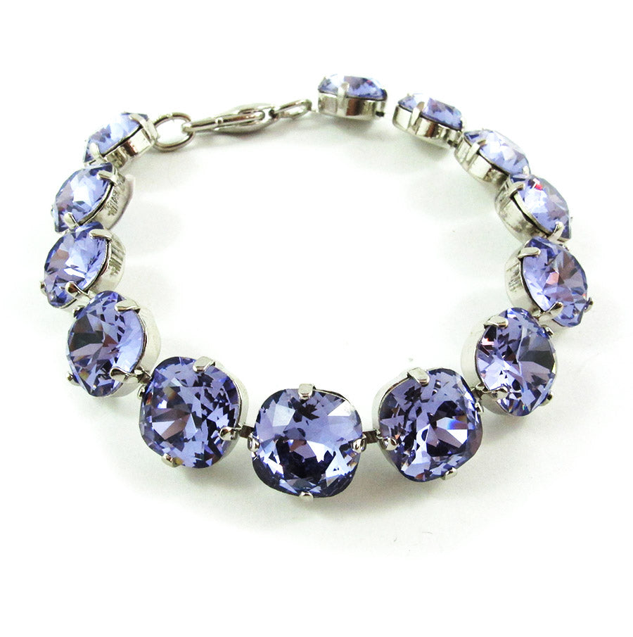 Harlequin Market Small Crystal Bracelet - Light Amethyst