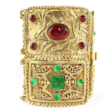 Load image into Gallery viewer, Vintage Signed Chanel Gripoix (Hand-poured-glass) cuff c. 1980