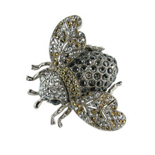 Load image into Gallery viewer, Ciner NY Chrome 100th Anniversary Bee Ring - Size 7