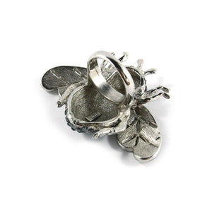Ciner NY Chrome 100th Anniversary Bee Ring - Size 7