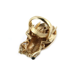Ciner NY Cicada Ring with Black Eyes - Size 8