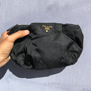 Prada Pre-owned Synthetic Black Purse Clutch