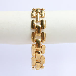 USA Vintage Classic Single Chain Link Bracelet c.1960