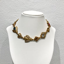 Load image into Gallery viewer, Limited Edition Christian Dior Vintage Bee Necklace c.1940s
