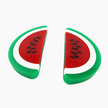 Load image into Gallery viewer, HQM Contemporary Acrylic Pop Art Watermelon Earrings- (Pierced earrings)