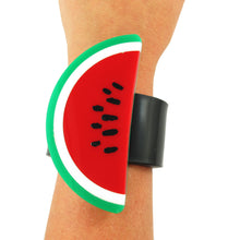 Load image into Gallery viewer, Harlequin Market - HQM Pop Art Acrylic Watermelon Cuff Copy