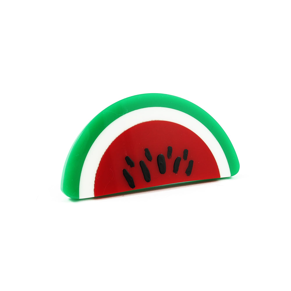 HQM Contemporary Acrylic Pop Art Watermelon Ring
