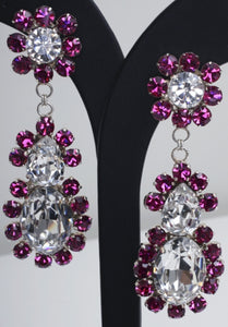 Harlequin Market Earrings