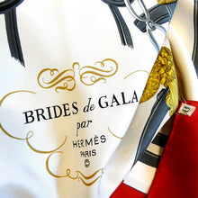 Load image into Gallery viewer, Vintage Hermes Silk Scarf Brides De Gala by Hugo Grygkar