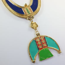 Load image into Gallery viewer, Karl Lagerfeld Vintage Tribal Neckpiece c.1980s