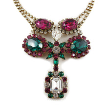 Load image into Gallery viewer, Harlequin Market Crystal Necklace