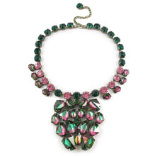 Load image into Gallery viewer, Harlequin Market Large Crystal Neckpiece