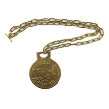 Load image into Gallery viewer, Harlequin Market Vintage Medallion Neck Chain