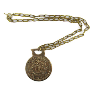 Harlequin Market Vintage Medallion Neck Chain