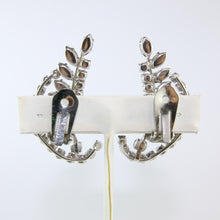 Load image into Gallery viewer, HQM Austrian Vintage Unsigned Leaf Cuff Earrings (Clip-On)