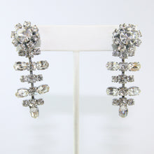 Load image into Gallery viewer, HQM Austrian Vintage Unsigned Mobile Singular Multi Bar Drop Earrings (Pierced)