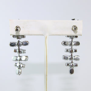 HQM Austrian Vintage Unsigned Mobile Singular Multi Bar Drop Earrings (Pierced)