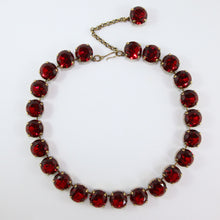 Load image into Gallery viewer, Harlequin Market Large Austrian Crystal Accent Necklace - Siam