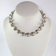 Load image into Gallery viewer, Harlequin Market Large Austrian Crystal Accent Necklace - Clear