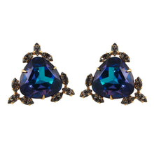 Load image into Gallery viewer, Harlequin Market Crystal Earrings