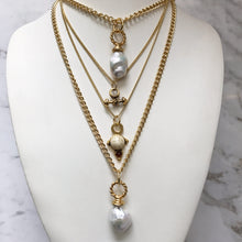 Load image into Gallery viewer, HQM Layering Necklaces - Various Vintage Charms or Baroque Pearls - Each Sold Separately