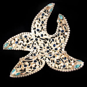 David Mandel Signed Starfish Brooch