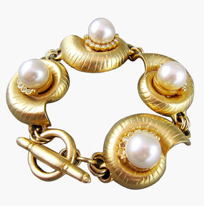 Kenneth J Lane Faux Pearl Bracelet