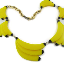 "Load image into Gallery viewer, Harlequin Market - HQM Acrylic ""Pop Art"" Banana Necklace"