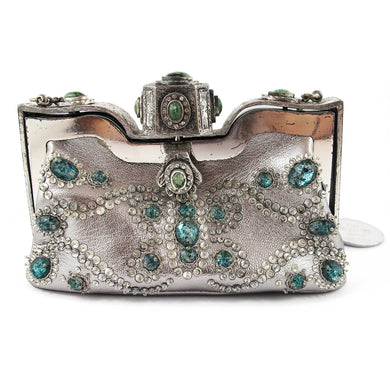 Vintage Signed 1970's Catwalk 'Valentino' Jewelled Evening Purse