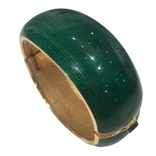 Load image into Gallery viewer, Vintage Emerald Green Cuff c.1970s