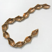 "Load image into Gallery viewer, Intricate Signed ""YSL"" Vintage Nuts Gold Tone Necklace c.1980s"