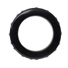 Load image into Gallery viewer, Lanvin Vintage Black Resin & Rhinestone Bangle Bracelet c.1990s