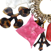 Load image into Gallery viewer, Christian Lacroix Signed Vintage Multi Key Chain c.1990s