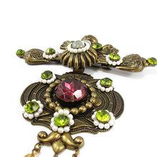 Load image into Gallery viewer, Signed 'Vrba' Military Style Brooch Brooch