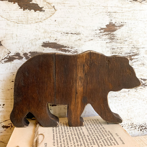 Bear Cutout - Customizable
