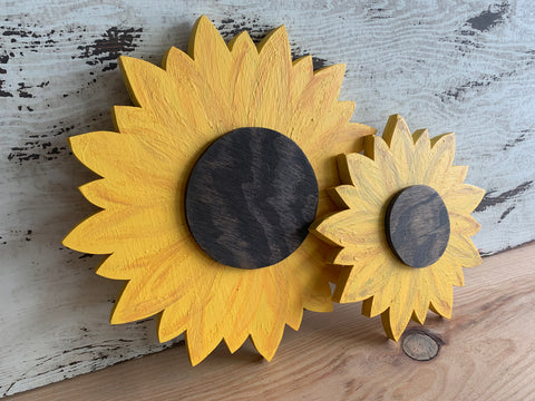 Sunflower Cutouts (Small, Medium, Large)
