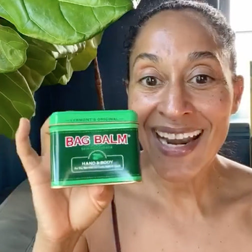 Actress Tracee Ellis Ross Swears by Bag Balm.