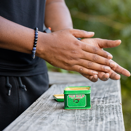 Trust your skin to the Green Tin.