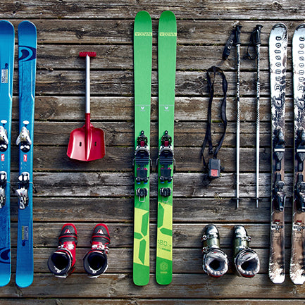 Skiing? The best way to avoid dry skin.