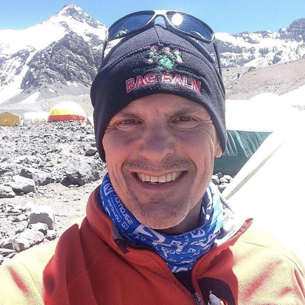 Chris Ummer Returns From Argentina's Mount Aconcagua With Bag Balm To Spare