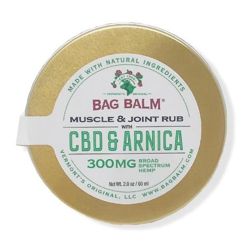 Broad Spectrum CBD & Arnica Rub