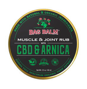 Organic Hemp & Arnica Muscle and Joint Rub