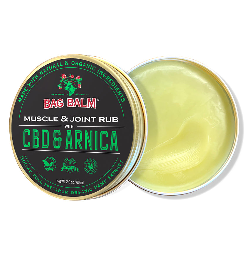 Organic CBD & Arnica Muscle and Joint Rub