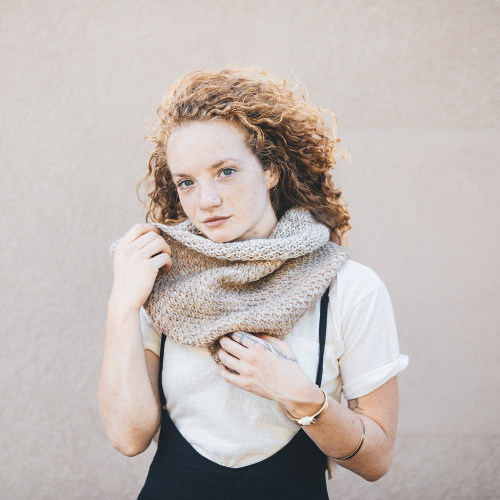 Ocre Cowl Digital Pattern